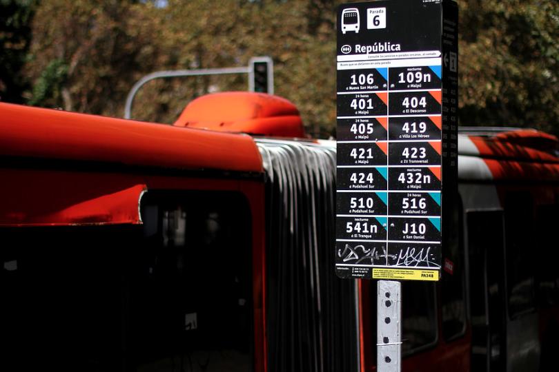 Nuevo monitoreo localizará a todos los buses del Transantiago en tiempo real
