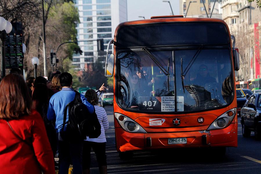 Los millonarios castigos a operadores del Transantiago por faltas al servicio