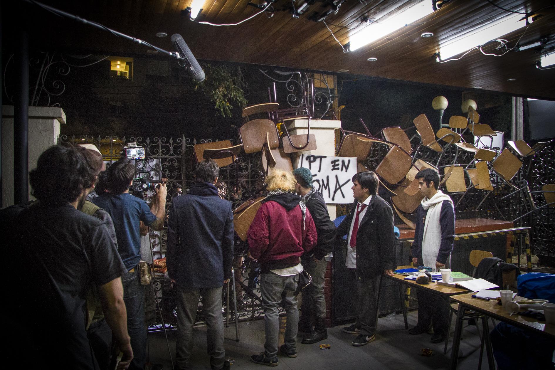 Lanzan película chilena inspirada en la revolución pingüina del 2006