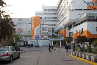 Menor que llevaba cinco días en el Hospital San Borja fue trasladado para poder recibir tratamiento