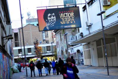Gobierno habilita Estadio Víctor Jara para atención de inmigrantes