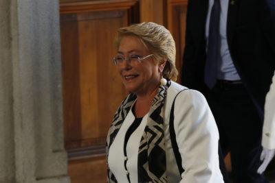 Bachelet estrena nuevo cargo internacional y destaca avances en salud durante su administración