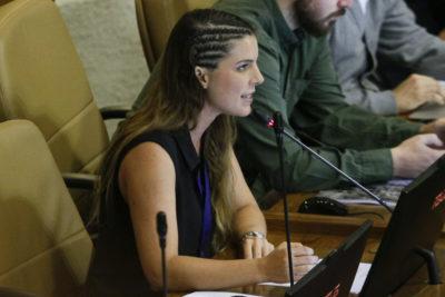 """Maite Orsini: """"Este Gobierno dice ser pro infancia y pro familia, pero no vale si son haitianos"""""""