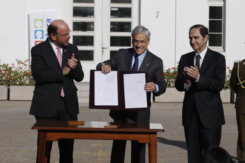 Piñera aumenta fondos a colaboradores del Sename y critica a quienes se restaron de Comisión por la Infancia