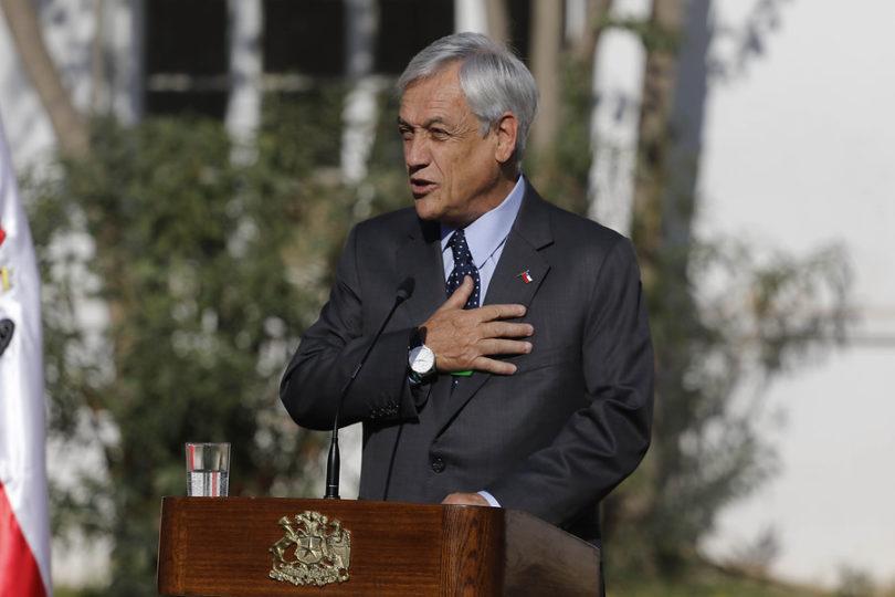 El chantaje moral en los acuerdos de Piñera