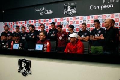 Voltereta monumental: plantel de Colo Colo revirtió la renuncia de Pablo Guede