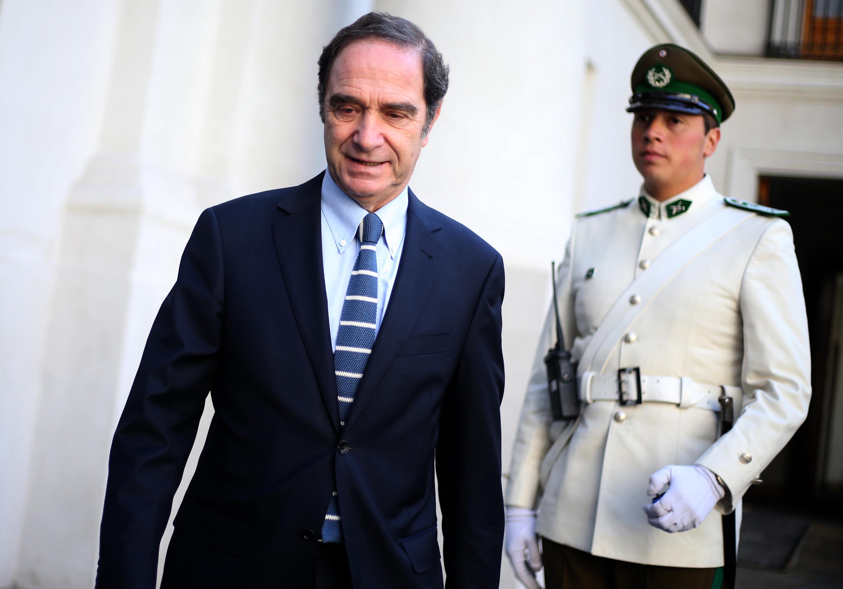 """Gobierno respalda públicamente las declaraciones de Hernán Larraín sobre jueces """"de izquierda"""""""