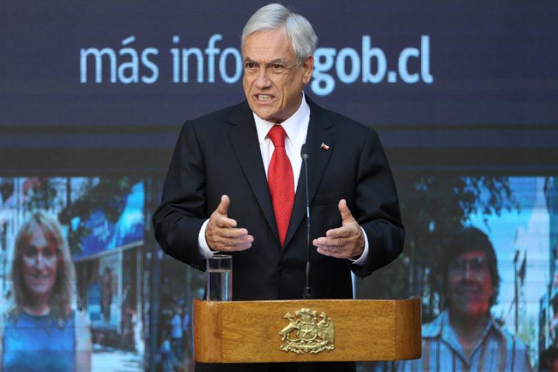 """Piñera defiende indicaciones a Ley de Migración: """"Inmigrantes tienen derechos pero también obligaciones"""""""