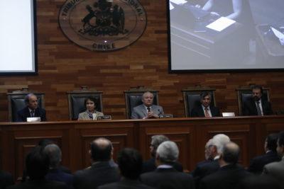 Presidente del TC votó declarar inconstitucional toda la Ley de Educación Superior