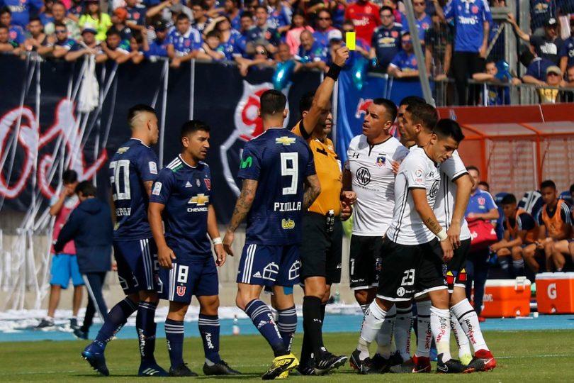 """VIDEO   """"Borracho cu***"""": cámaras captan el insulto de David Pizarro a Jorge Valdivia en el Superclásico"""