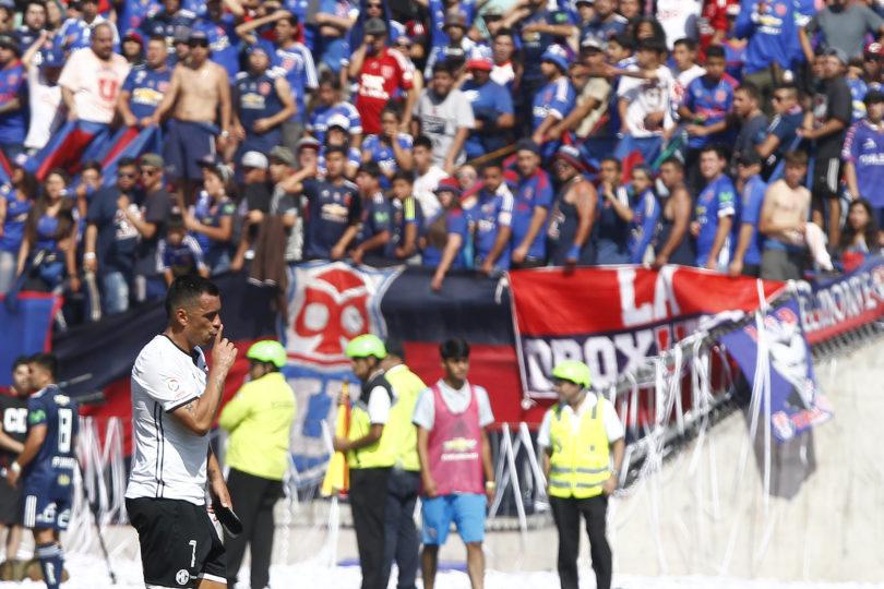 VIDEO | Su cara lo dice todo: reacción de trabajador del CDF por gol de Paredes a Herrera se transforma en el viral del Superclásico