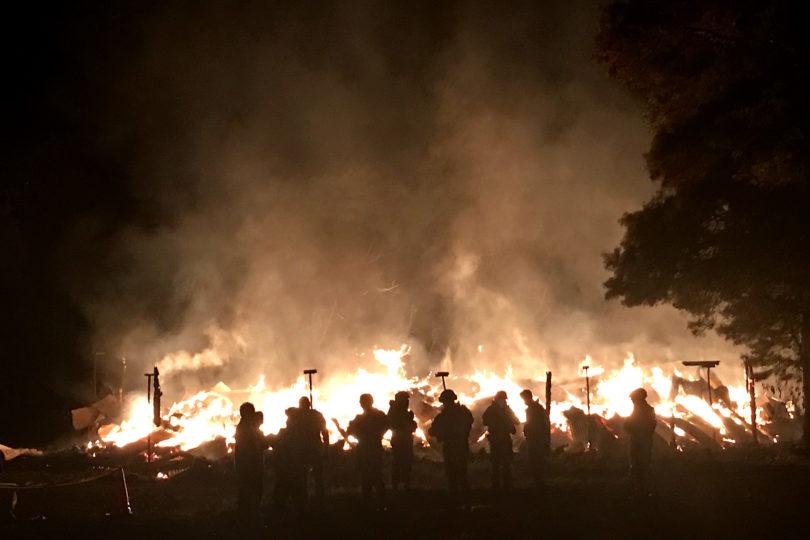 Investigan nuevo ataque incendiario en fundo en La Araucanía