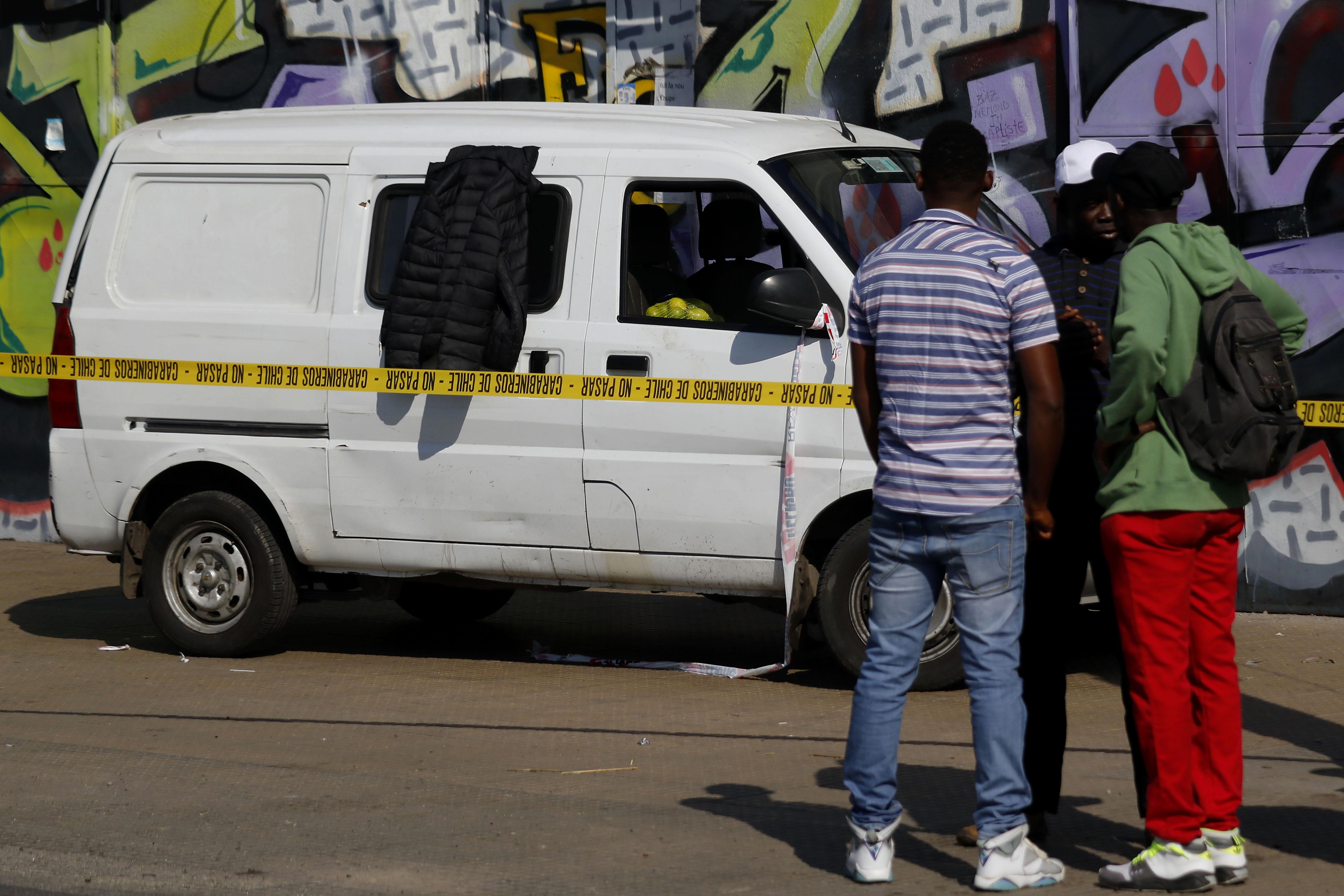 """""""Mujer haitiana murió al interior de un furgón: familiares acusan al SAMU de discriminación"""""""