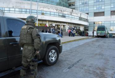 Machi Celestino Córdova fue trasladado al Hospital de Temuco y sufrió fuerte golpe en la cabeza