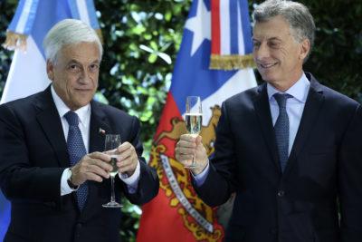 """Piñera incomoda a empresarios argentinos: """"Están en deuda con invertir en nuestro país"""""""
