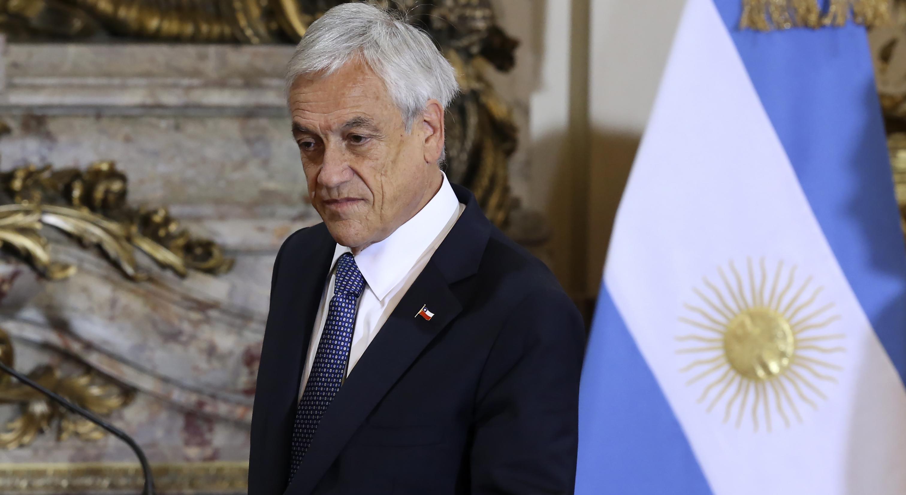 """""""Sebastián Piñera:"""