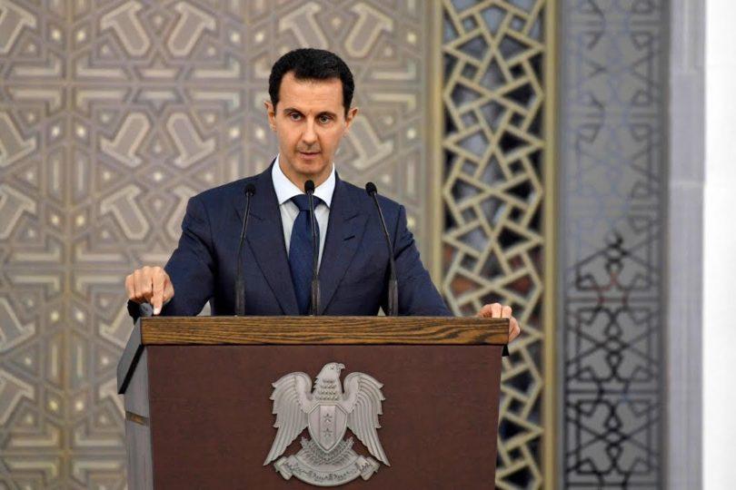 """Bashar al Asad: """"Las potencias occidentales coloniales reconocen su apoyo al terrorismo"""""""