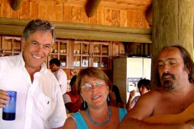La historia detrás de la imagen de Bachelet, Sebastián Piñera y el Negro Piñera en Caburgua