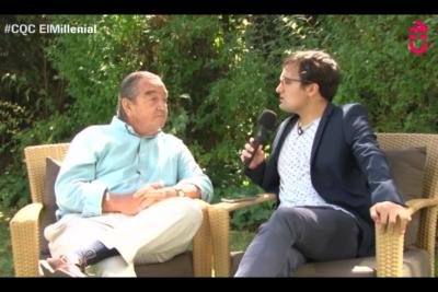 """VIDEO   Sacan de quicio a Labbé en entrevista donde le preguntaron si Pinochet """"era como su Whitney Huston"""""""