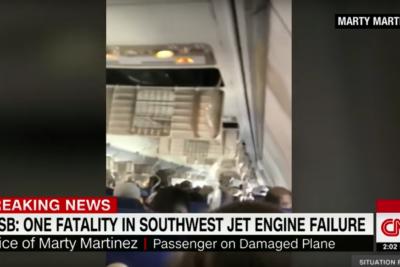VIDEO |Mujer muere al ser succionada por la ventanilla de un avión en pleno vuelo de Southwest Airlines