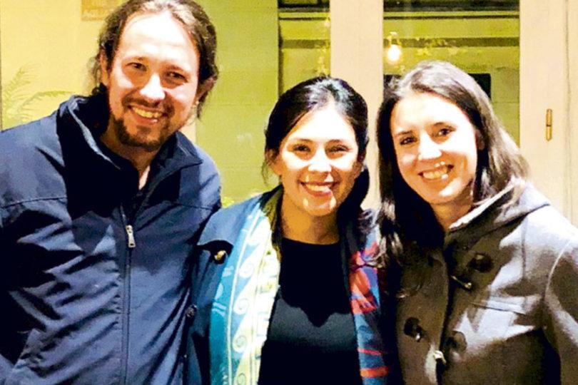 """Cariola llama al FA a aliarse con el PC tras reunión con Podemos: Sharp afirma que """"hay un estilo de oposición distinta"""""""