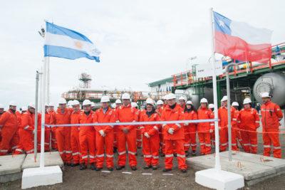 ENAP e YPF inauguran proyecto off shore por US$ 354 millones