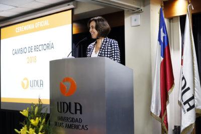 Pilar Romaguera asumió como nueva rectora de la Universidad de Las Américas