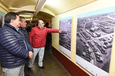 """Reinauguran la muestra """"Campamentos Petroleros del Fin del Mundo"""" en Punta Arenas"""