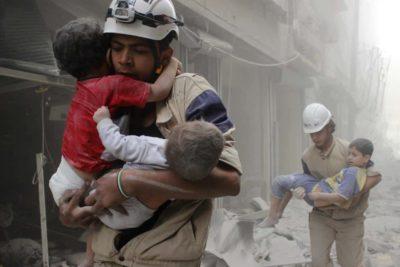Niñez en zonas de guerra: Por desgracia la infancia no se pierde