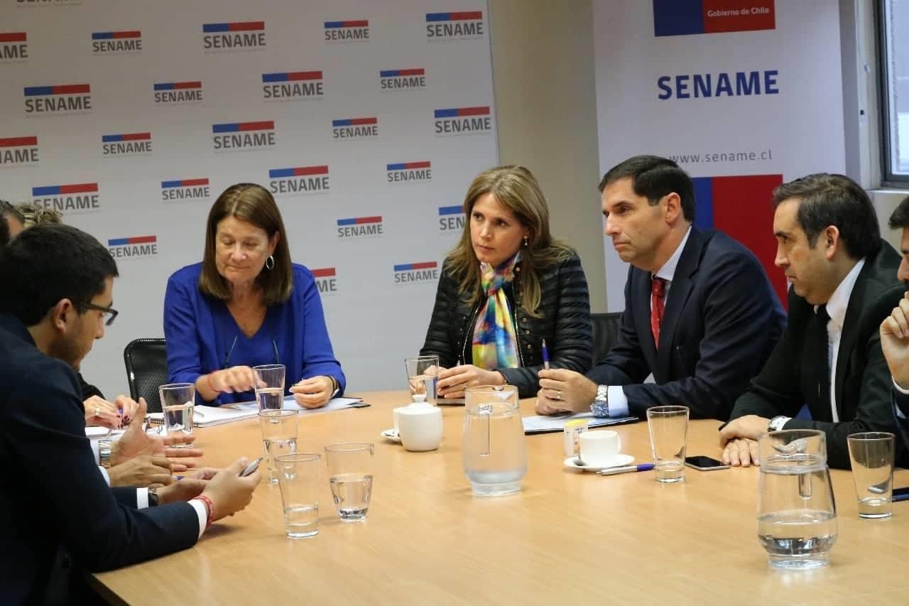 Alcaldes de Chile Vamos piden participar en acuerdo por la infancia e inician trabajo con Sename y Ministerios
