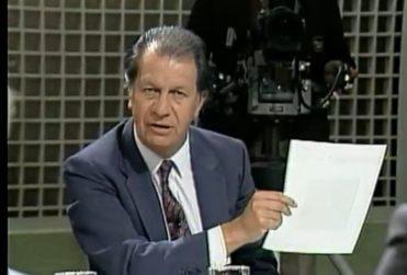 Schaulsohn revela desconocido episodio tras el dedo de Ricardo Lagos a Pinochet