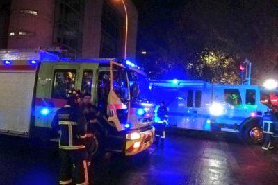 Emanación de gas moviliza a personal de emergencia en las afueras de la Universidad Central