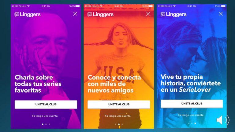 """""""Linggers, una app para los """"serie-adictos"""" que funciona como Tinder para ampliar tus redes"""""""