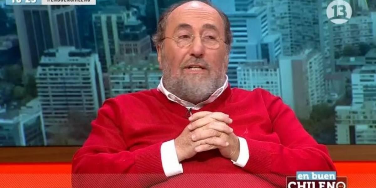 """Sergio Melinck se dio por aludido cuando Felipe Bianchi trató de """"picante"""" y """"flaite"""" a la derecha pinochetista"""