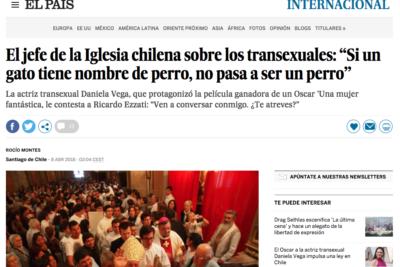 Vergüenza internacional: palabras de Ezzati sobre personas trans llegan a las portadas en España