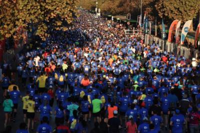 Intendencia metropolitana califica como éxito última versión de la Maratón de Santiago