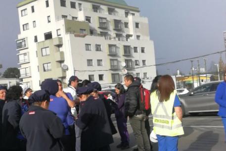 VIDEO | Salen a la luz los primeros registros de la explosión en el Sanatorio Alemán de Concepción: Hay tres fallecidos