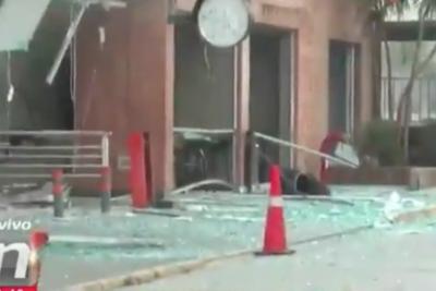 VIDEO | El impactante registro de la explosión del Sanatorio Alemán de Concepción
