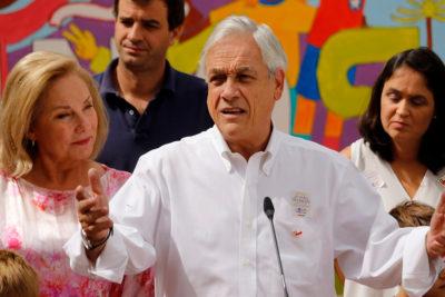 Piñera compromete incluir medidas de Bachelet en nuevo Acuerdo Nacional para la Infancia