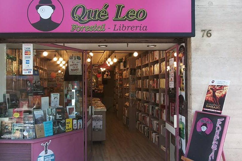 Librería Qué Leo Forestal celebra aniversario con maratón de firmas de autores