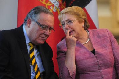 Los ex ministros que se ausentarán de la reunión con Michelle Bachelet