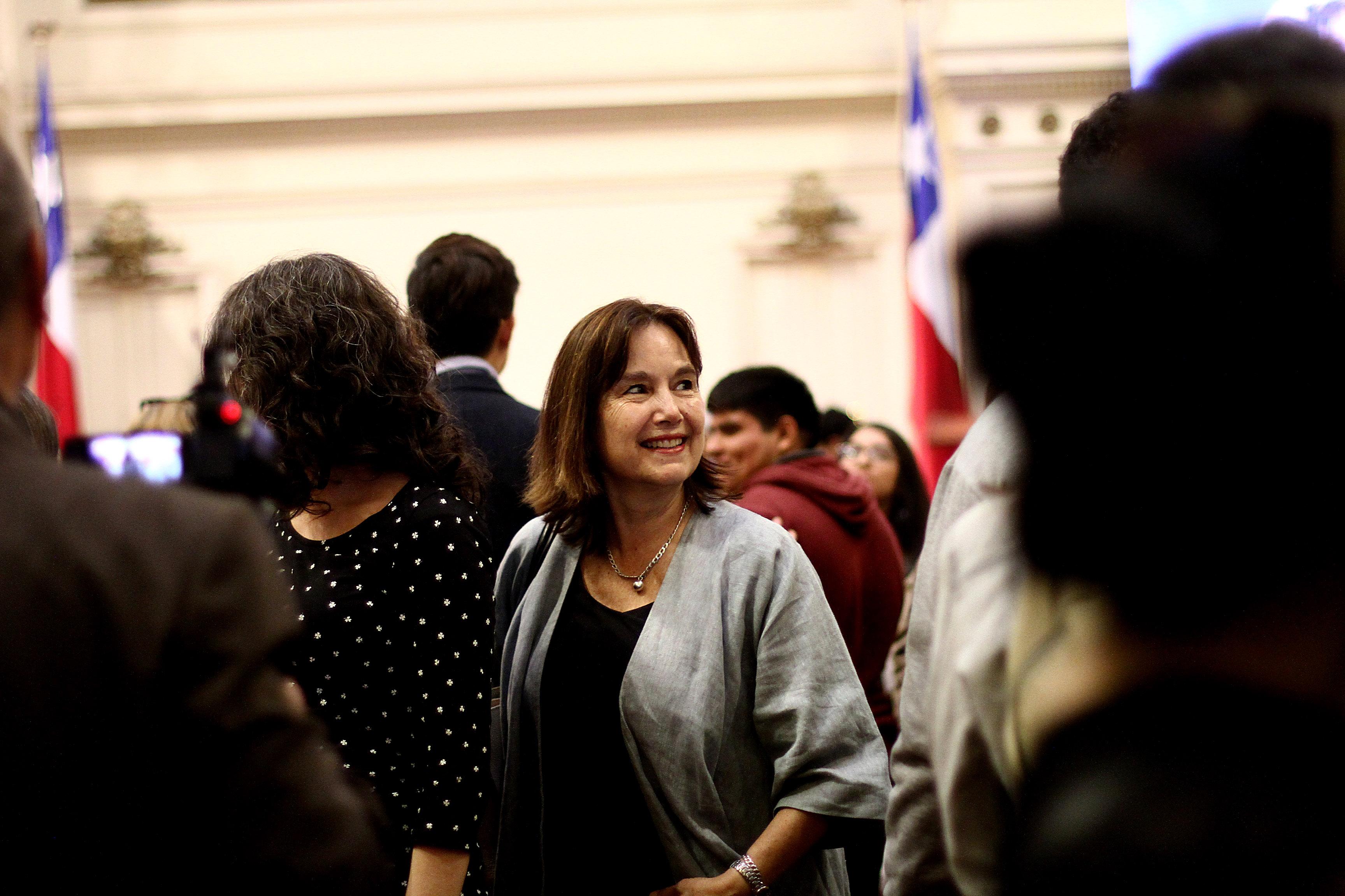 """""""Ex ministra Castillo celebra fallo de Contraloría por objeción de conciencia:"""