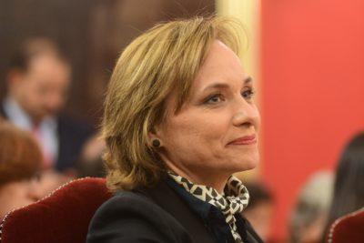 """Carolina Goic: """"No me parece que tratemos de cambiar un ministro para dar un golpe al Gobierno"""""""
