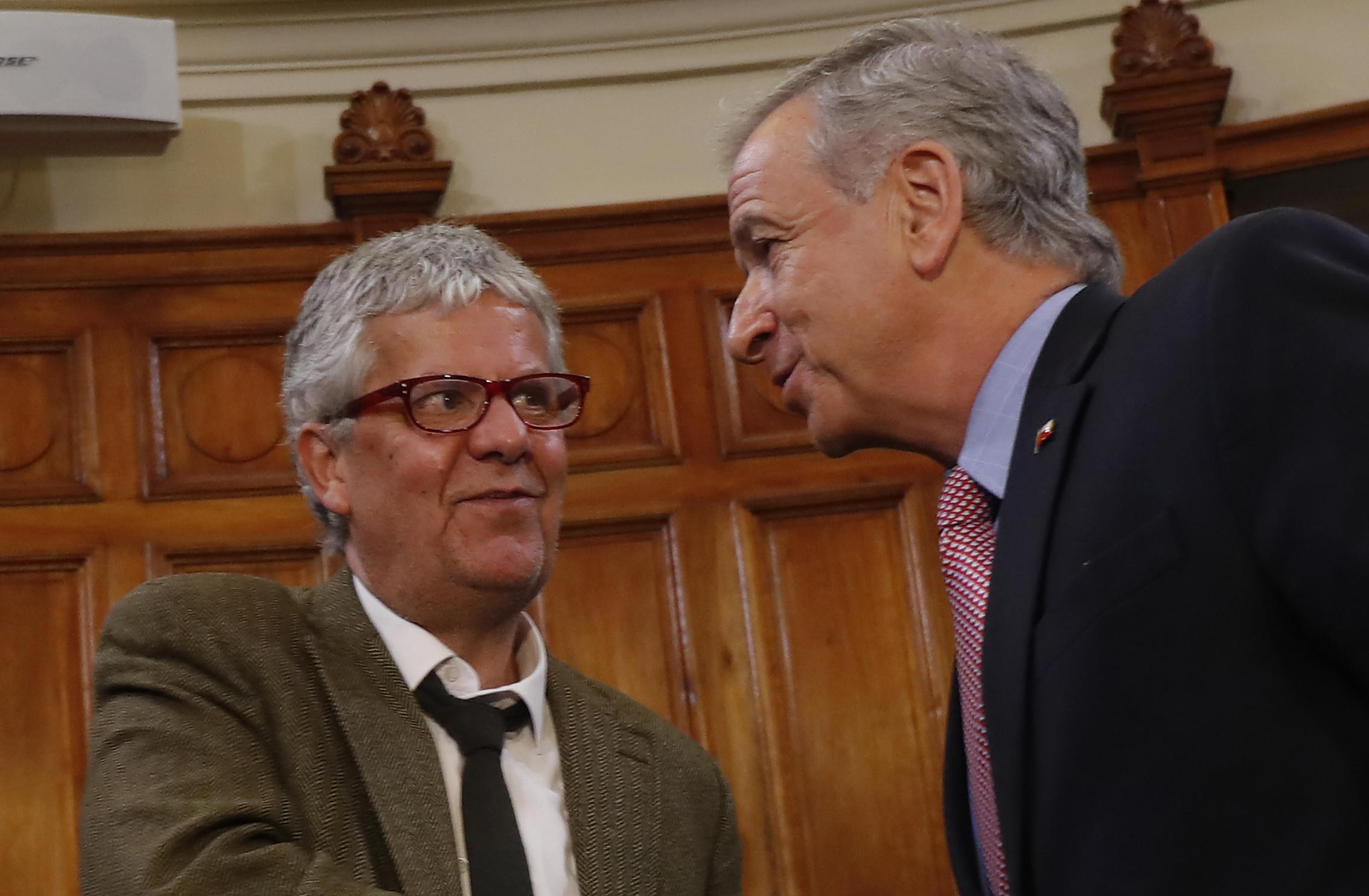 """Nicolás Eyzaguirre: """"La vida de un ministro de Hacienda consiste en encontrar holguras en otro lado"""""""