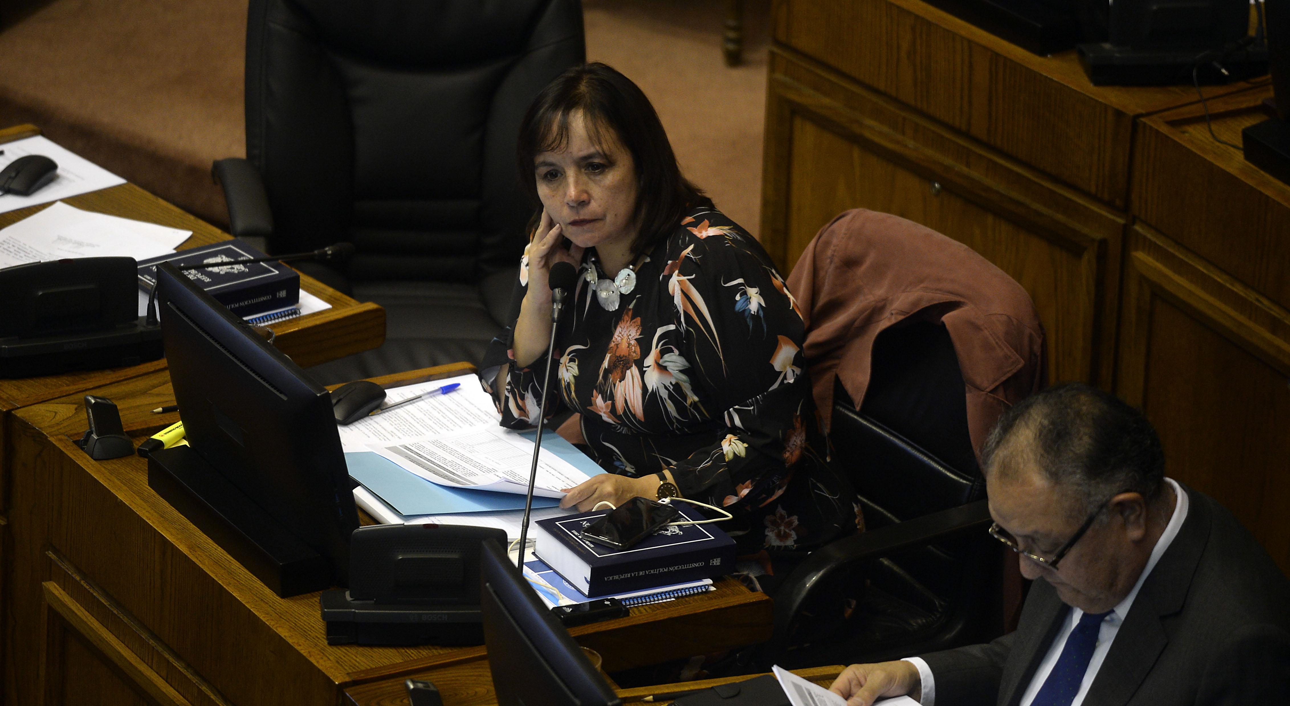 """""""Senadora Evópoli pone presión al Gobierno por compromisos:"""