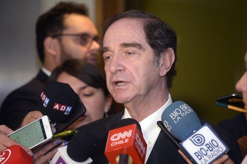 """Ministro Hernán Larraín por interpelación: """"Espero que no se instrumentalice para otros fines políticos"""""""