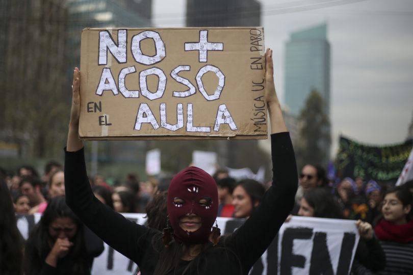 Movimiento feminista ya concentra 17 paros y 22 tomas en distintas universidades