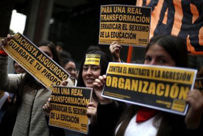 """Ministra Plá: """"Las marchas de las estudiantes se han caracterizado por ser pacíficas"""""""