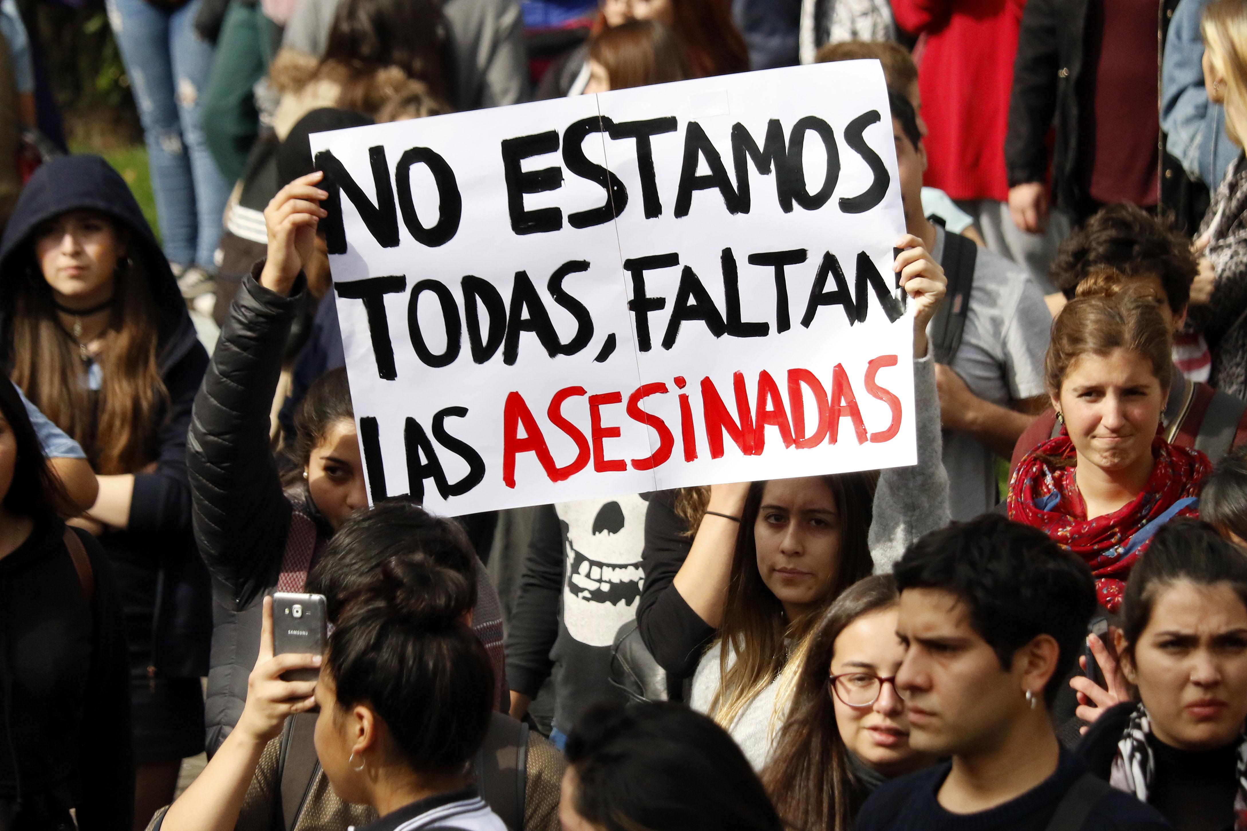 45% de las víctimas de femicidios habían denunciado a su agresor