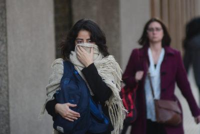 Después de la lluvia llega el frío: pronostican mínimas de hasta 0º en Santiago en los próximos días